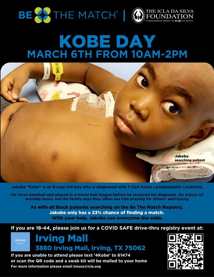 Kobe Day_March 6th_Irving Mall